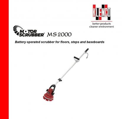 KLENCO MS2000 Cordless Motor Scrubber PAGE2KR9001