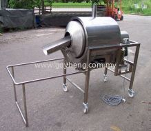 Stainless Steel Peanut Frying Machine 白钢炒花生机