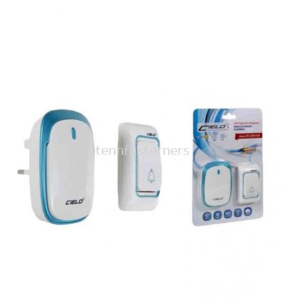CIELO DC-2201/CIE DIGITAL WIRELESS DOORBELL - BLUE/GOLD