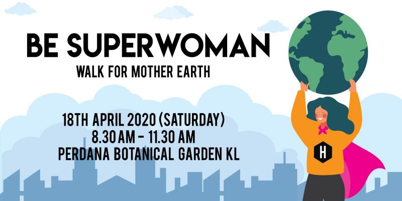 BE SUPERWOMAN x EARTH DAY 2020 SCAVENGING HUNT