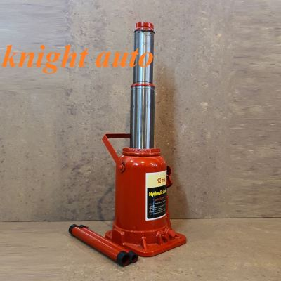 12Ton 2-Stage Bottle Jack -Low Profile ID31519