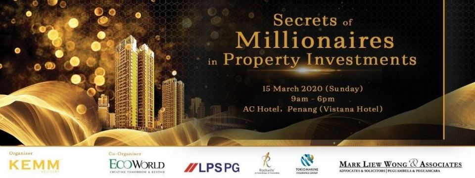 Secrets of Millionaires in Property Investments March 2020