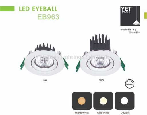 YET EB963 5W 10W DL CW WW LED