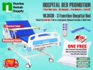 NL303D [Full Set] Hospital Bed 3 Function (Electric) Electric Powered Hospital Beds Hospital Beds