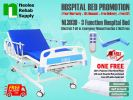 NL303D Hospital Bed 3 Functions (Electric) Electric Powered Hospital Beds Hospital Beds