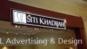 SITI KHADIJAH 3D LED box up front lit LED 3D Signage