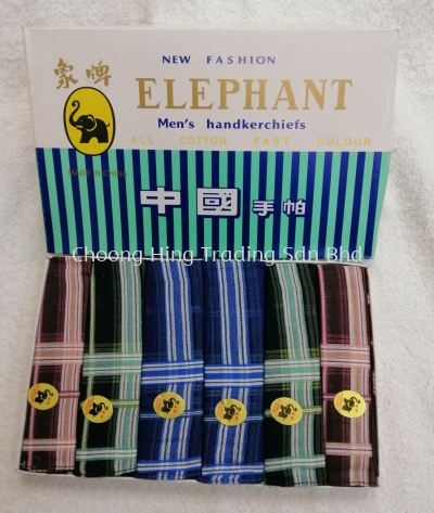 Elephant Men's Handkerchiefs