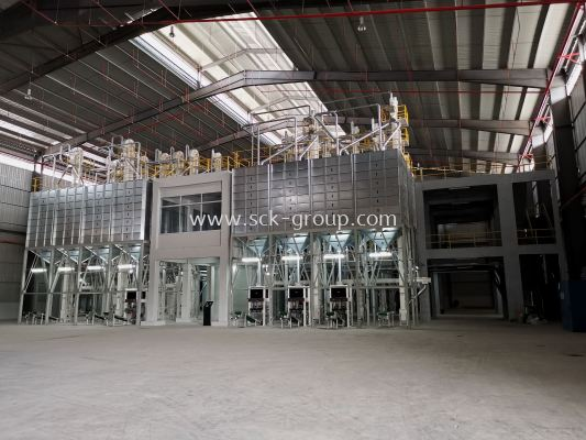 Packing Silo and Packing Machine Section