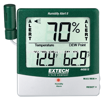 Hygro Thermometer Humidity Alert with Dew Point