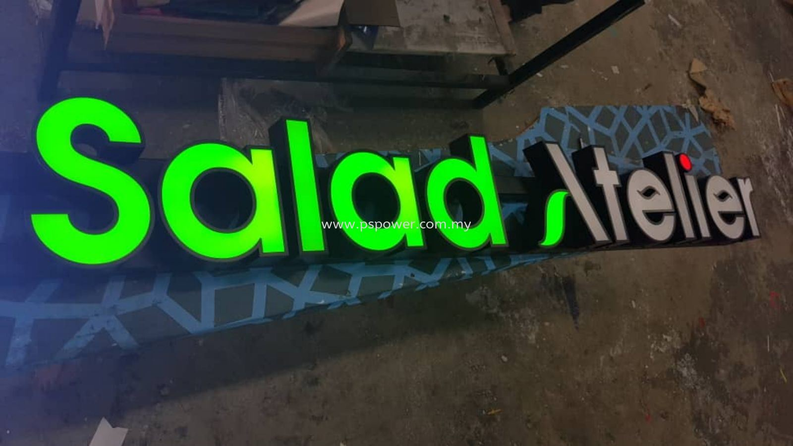Laser Cut Acrylic Letterings Signage