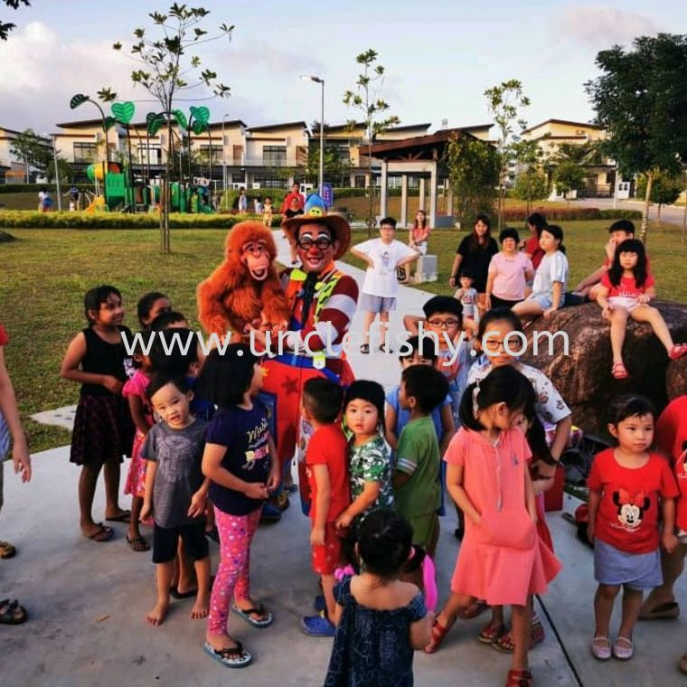 Chinese New Year celebration at Bandar Cemerlang