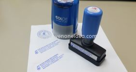 Self Inking Company Stamp