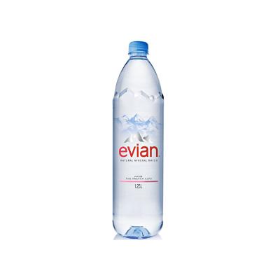 EVIAN Mineral Water (12 x 1.25 L)