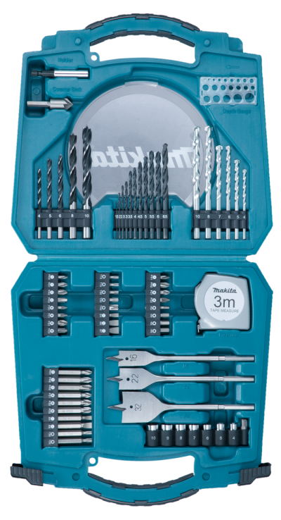 MAKITA 71PC. BIT & HAND TOOL SET D-53001
