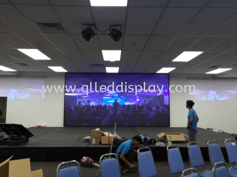 WESTERN DIGITAL At Kuala Lumpur Stage Effect LED Display Screen