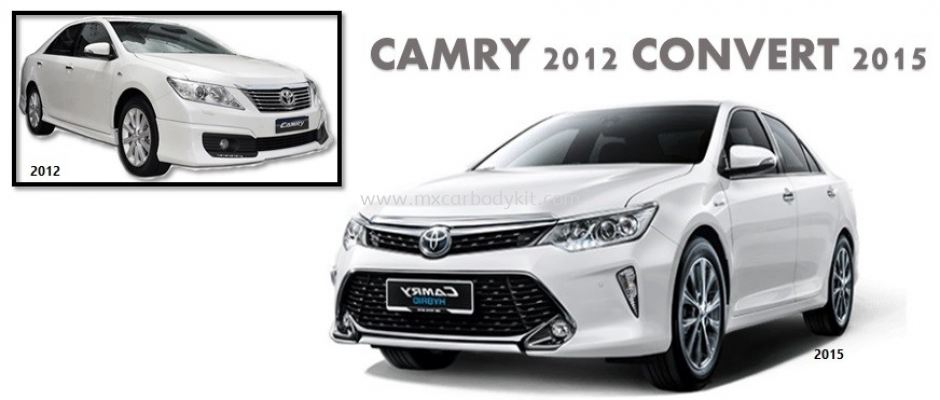 TOYOTA CAMRY 2012 CONVERSION TO 2015 FACELIFT