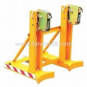 FDG-2 Forklift Double Drum Gripper  Forklift Drum Attachment  Drum Handling Equipment  Material Handling Equipment