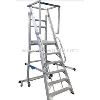YFWS Series Heavy Duty Foldable Warehouse Step Ladder