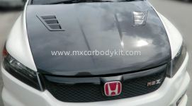 HONDA STREAM 2008 FRONT BONNET HOOD WITH AIR AVENT