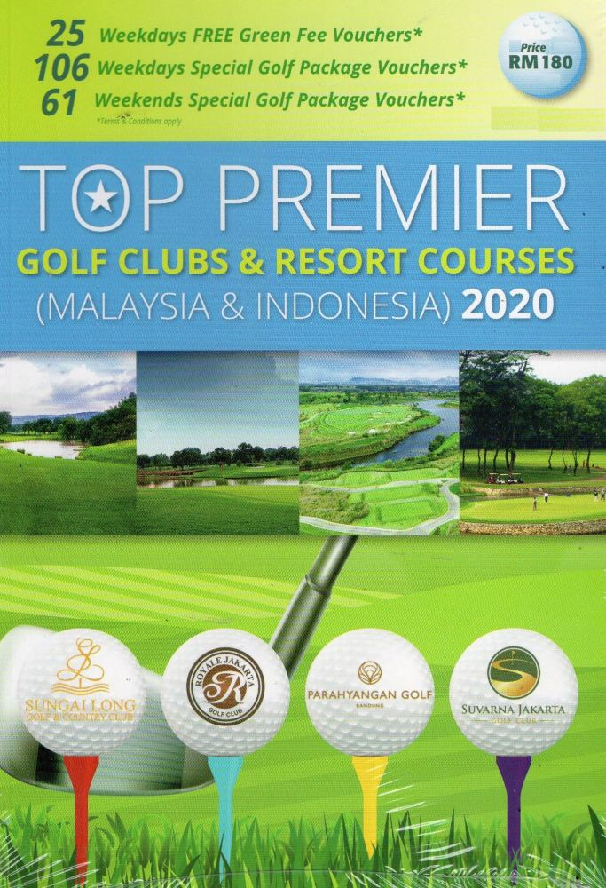 Flight Coupons Special Rates-Zero Green Charges etc Booklet for Golfers!