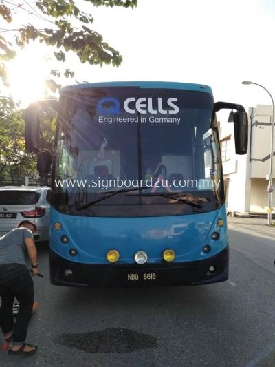 HLGD Sdn bhd Cutting Reflective Sticker At Bayu Tinggi Klang,Selangor