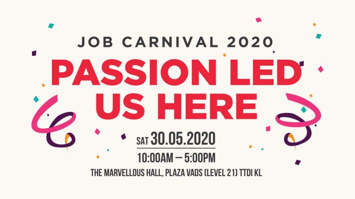 Job Carnival 2020 �C Passion Led Us Here