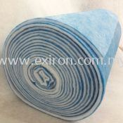 Washable Air Filter Media Rolls ( 80% - 85% ) Blue & White