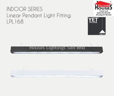 HANGING LPL168/1BK  WH 4FT T8-2WAY CASING ONLY