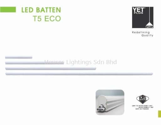 YET ECO T5 LED DL CW WW 1ft 2ft 3ft 4ft