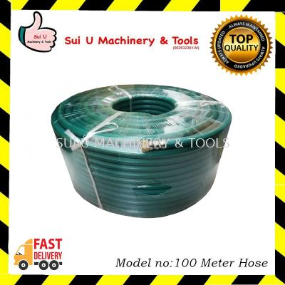 100 meter Pressure Spray Hose Green Colour