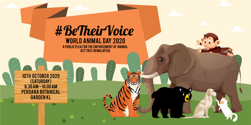 BE THEIR VOICE X WORLD ANIMAL DAY 2020