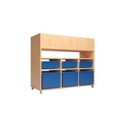 QWA040C All In One Classroom Storage Shelf ( Excluding Tray )