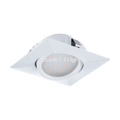 Eglo 95841 Spot Led 84 x 84 White Pineda Light