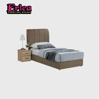 erica single bed melamine wood