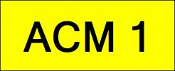 ACM 1 All Plate