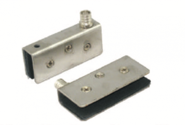12MM BIG GLASS HINGE-SS