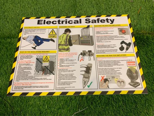 Electrical Safety Poster