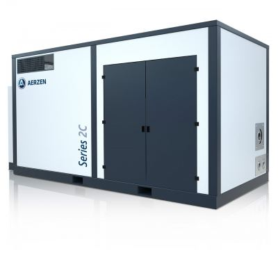 OIL-FREE SCREW COMPRESSOR UNITS POSITIVE PRESSURE 2C8W -> MAX. 870 M3/H