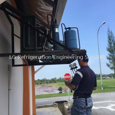 Refrigerant Gas Refill