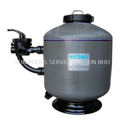 WATERCO Micron Side Mount Sand Filters (With 40MM SM Multiport Valve & Bareel Union)