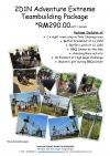 2D1N ADVENTURE EXTREME TEAMBUILDING PACKAGE Events Packages