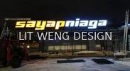 Sayap Niaga Sdn Bhd (Taman Ayer Panas) Front Light  Box Up Letterings