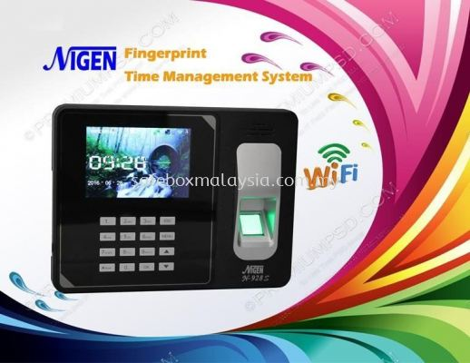N-928S Web-Based Fingerprint Time Attendance