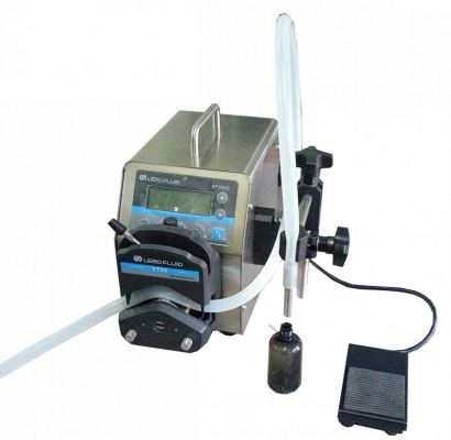 W-700PP-12 3-3500ml peristaltic pump liquid filling machine 12000ml / min new smart touch control