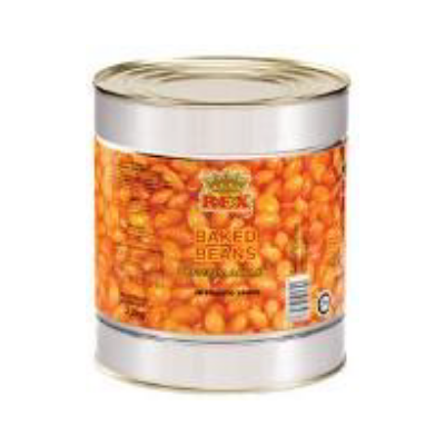 Rex Baked Beans In Tomato Sauce (6 x 3.2 kg)
