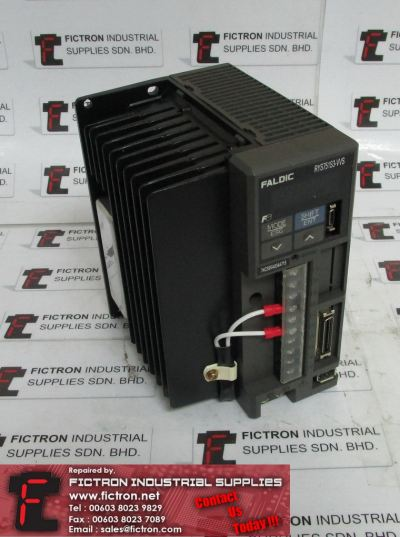 RYS751S3-VVS RYS751S3VVS FUJI ELECTRIC AC Servo Amplifier Supply Repair Malaysia Singapore Indonesia USA Thailand