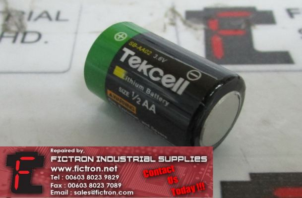 SB-AA02 SBAA02 TEKCELL Lithium Battery Supply Malaysia Singapore Indonesia USA Thailand Australia