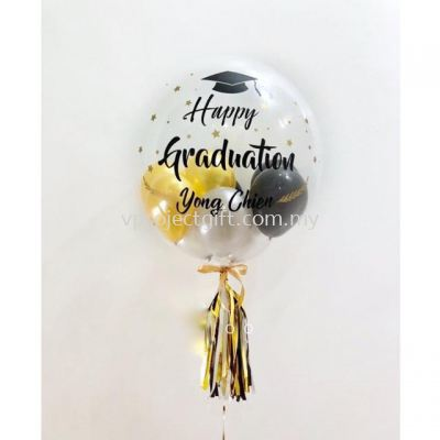 Graduation Bubble Balloon 1