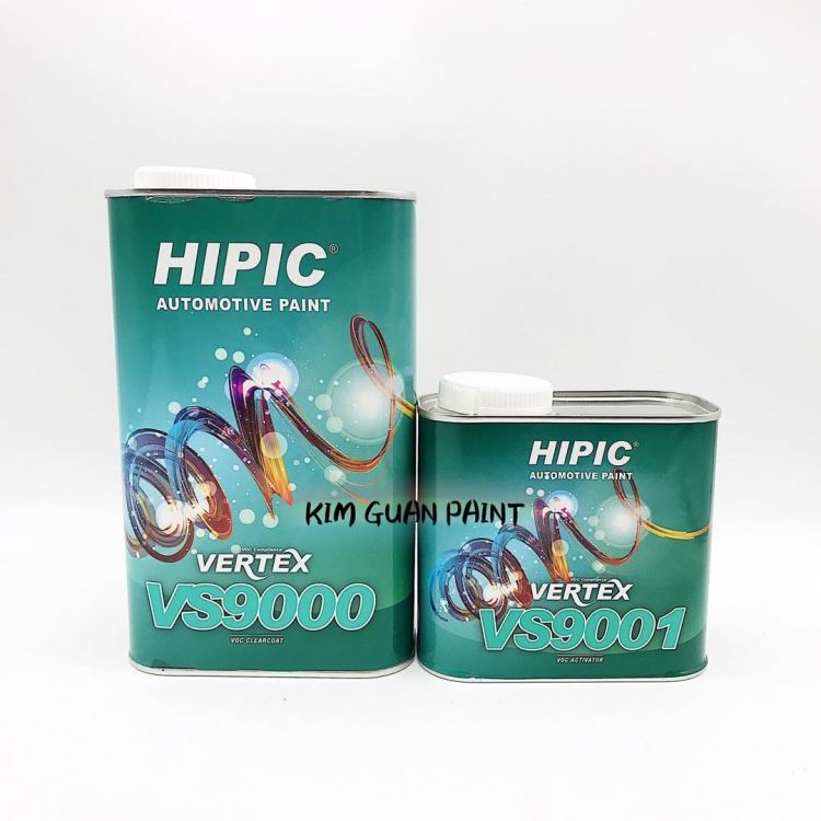 VS9000 HIPIC Vertex VOC Clearcoat and Activator