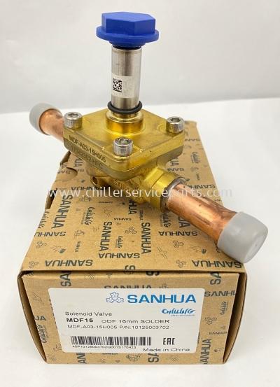 "MDF-A03-15H005 SanHua Solenoid Valve 5/8""ODF Solder"